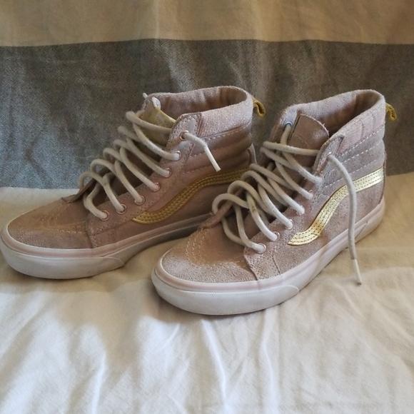 Vans Shoes | Rose Gold Light Pink